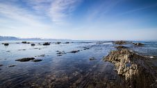 Free Rocky Coastline With Blue Skies Stock Image - 82957451