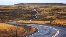 Free Winding Road Through Countryside Stock Photography - 82957572