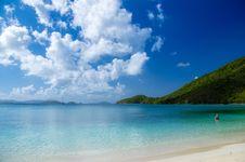 Free Sandy Beach On Sunny Day Stock Photos - 82957663