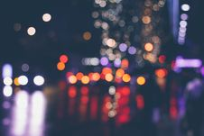 Free Bokeh Lights In City Streets Royalty Free Stock Images - 82957959