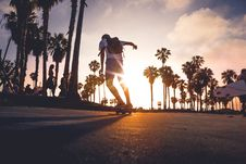 Free Skateboarder In Street Royalty Free Stock Images - 82958699