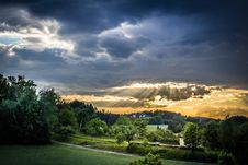 Free Green Grass Under Nimbus Clouds During Daytime Royalty Free Stock Photo - 82959015