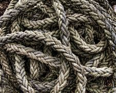 Free Coil Of Rope Stock Photography - 82959492