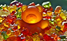 Free Gummy Bear Candies Royalty Free Stock Image - 82959536