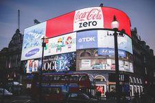 Free Red Coca Cola Zero Signage Stock Photography - 82959592