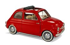 Free Red Classic Fiat 500 Royalty Free Stock Photo - 82959695