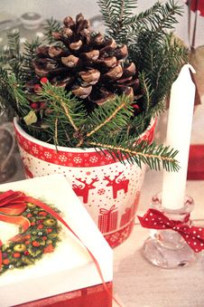 Free Christmas Still Life Stock Photo - 82960370