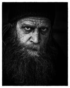 Free Man S Face In Grayscale Photography Stock Photos - 82960523