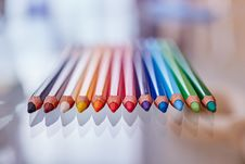Free Colored Pencils Stock Image - 82960811