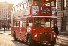 Free Famous London Red Bus  Royalty Free Stock Images - 82961179