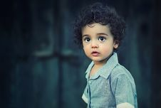 Free Outdoor Portrait Of Young Boy Stock Photos - 82961663
