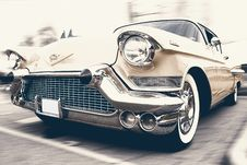 Free Vintage Car In Lot Royalty Free Stock Photo - 82961795
