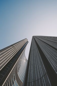 Free Skyscrapers On Sunny Day Stock Photo - 82961850