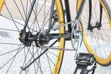 Free Black Bicycle Royalty Free Stock Photos - 82962698