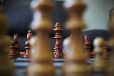 Free Game Of Chess In Progress Stock Photos - 82962753