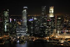 Free Mid And High Rise Buildings With Lights Turned On During Night Royalty Free Stock Photo - 82963235