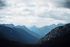Free View Of Mountains And Forest Royalty Free Stock Images - 82963669
