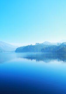 Free Blue Lake Royalty Free Stock Image - 82963766