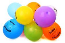 Free Happy Birthday Balloons Royalty Free Stock Photo - 82964205