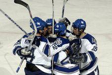 Free Hockey Team Celebrating Stock Images - 82964574