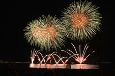 Free Yellow Orange And Red Fireworks During Nighttime Royalty Free Stock Image - 82964576