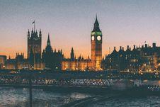 Free Big Ben And Parliament, London, England At Sunset Stock Photos - 82964933