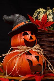 Free Halloween Jack O Lanterns Stock Image - 82965451