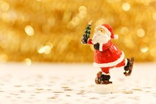 Free Santa Clause Figurine Stock Photography - 82965552