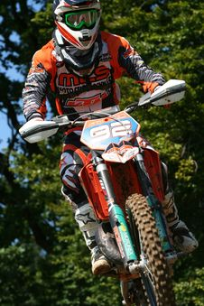 Free Motocross Competitor 92 Royalty Free Stock Images - 82965669