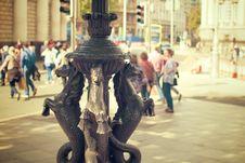Free Seahorse Statue In City Square Stock Photo - 82965790