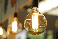 Free Close Up Of Clear Light Bulb Stock Photos - 82965843