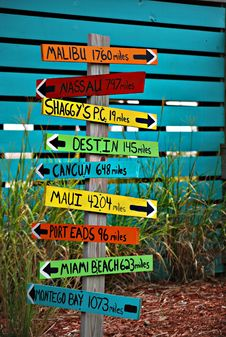 Free Brown Wooden Destination Arrow Guide Royalty Free Stock Photos - 82966048