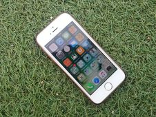 Free Silver Iphone On A Green Grass Stock Photography - 82975622