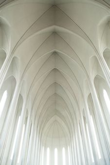 Free Arches Of Cathedral Dome Stock Photography - 82975952