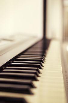 Free Macro Photo Of Piano Keys Royalty Free Stock Images - 82975969