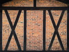 Free Black Wooden Frame Glass Window Royalty Free Stock Photo - 82976435
