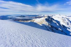 Free Mountain Covered With Snow Under White And Blue Sky During Daytime Royalty Free Stock Images - 82977729