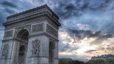 Free Grey Arc De Triumph Royalty Free Stock Images - 82977929