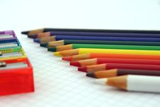 Free Close Up Photography Of Coloring Pencils Royalty Free Stock Images - 82977979