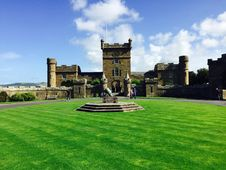 Free Castle On Green Lawn Royalty Free Stock Photo - 82978155
