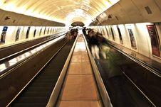 Free Underground Railway Station Stock Photography - 82978342