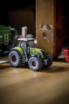 Free Toy Tractor Royalty Free Stock Photo - 82978695