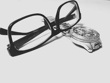 Free Eyeglasses And Watch Stock Photos - 82978763