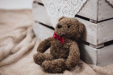 Free Teddy Bear  Stock Photo - 82978790