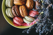 Free French Macarons Royalty Free Stock Photos - 82978868
