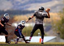 Free 2 Football Player Running After Person Holding Football During Daytime In Shallow Focus Photography Royalty Free Stock Photography - 82979007