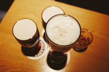 Free High Angle View Of Drink On Table Stock Image - 82979211