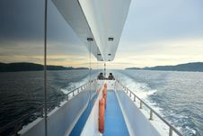 Free People On Sailboat Deck Royalty Free Stock Photos - 82979368