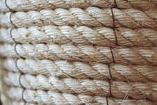 Free Close Up Of Rope Royalty Free Stock Image - 82979516