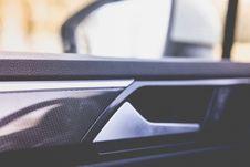 Free Handle On Interior Of Car Door Stock Photos - 82980153
